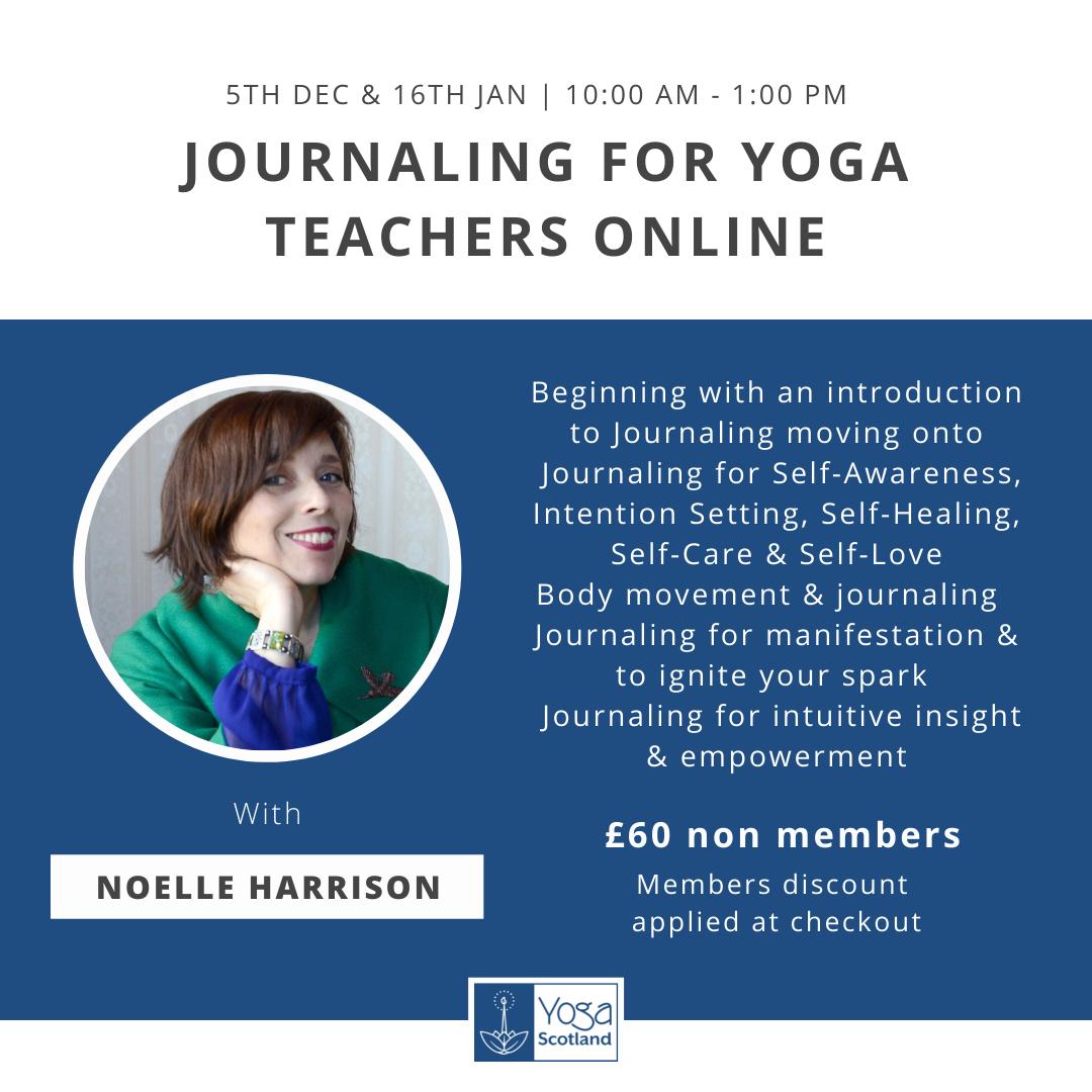 Journaling for Yoga Teachers Online IG